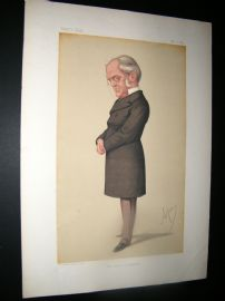 Vanity Fair Print 1875 F. M Muller, Teacher
